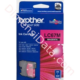 Jual Tinta  Cartridge BROTHER Magenta [LC-67M]